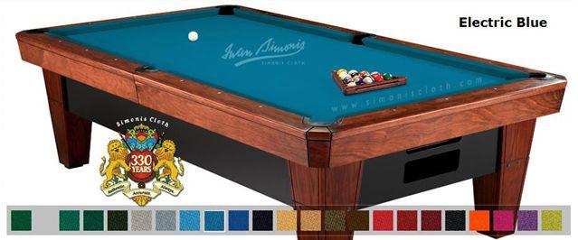 Simonis 12' Simonis 860 Electric Blue Billiard Pool Table Cloth Felt at Sears.com