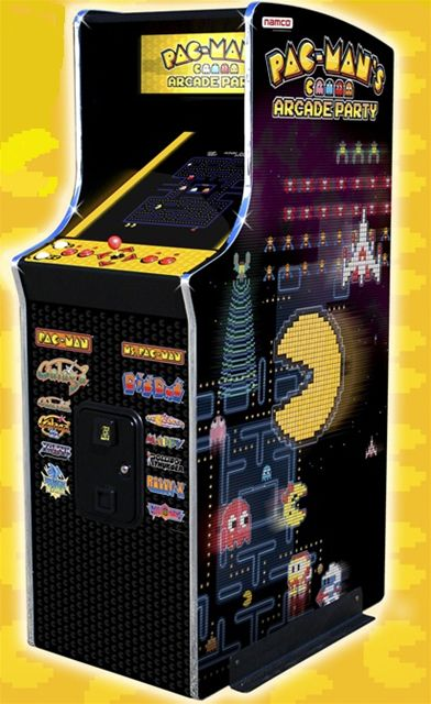 Pac-Man's Arcade Party Home Upright Arcade Game